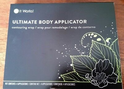 It Works! Body Contouring Wraps Ultimate Body Applicator 4 pack