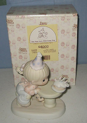 "Enesco Precious Moments 1992 ""May Your Every Wish Come True"""
