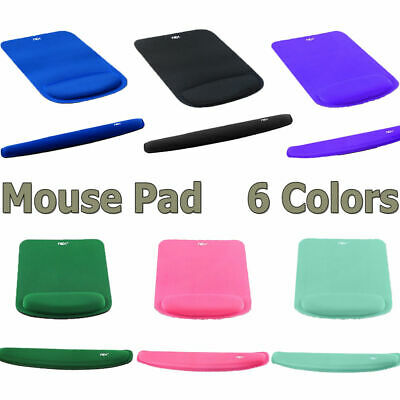 Office Mouse Pad with Keyboard Wrist Rest Support Comfortably Made of Memory