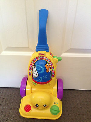 Fisher Price Vacuum Cleaner Toy
