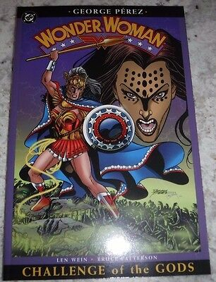"""Wonder Woman Challenge of the Gods"" George Perez TPB NM"