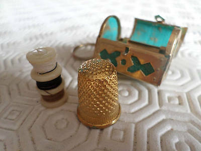 French Sewing Etui Chatelaine