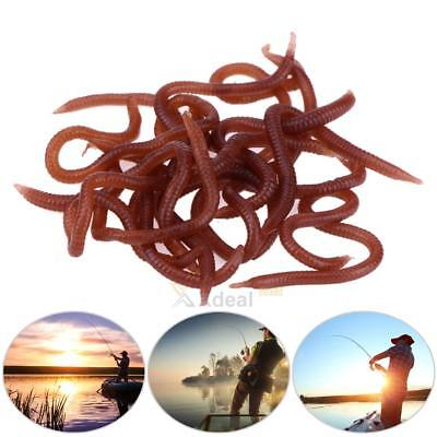 Soft Bait Carp Fishing Lure Silicone Smell Red Worm Bloodworm Lure Maggots Lures