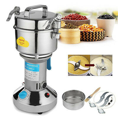 3000W 1000g Electric Herb Grain Grinder Cereal Mill Flour Coffee Food Wheat 220V