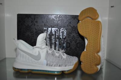 best loved 727ac 5f2d8 Nike Zoom KD9 Kevin Durant Boys Basketball Shoes 855908 098 Pale Gray Ivory  NIB