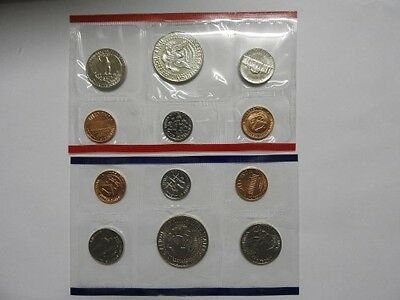 1989 United States Mint Uncirculated Coin Set D & P Mintmark