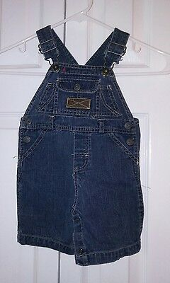 Carter's Jean Overall Unisex Shorts Size 18M