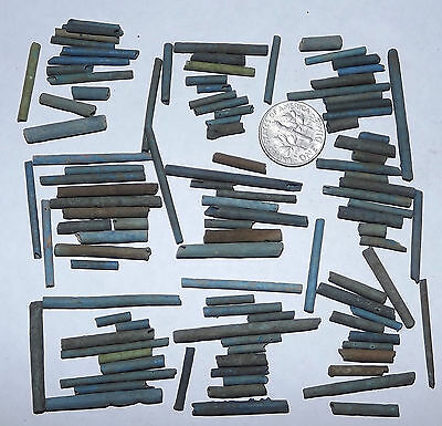 More than a Hundred 2500 Year old Ancient Egyptian Faience Mummy Beads (#G2614)