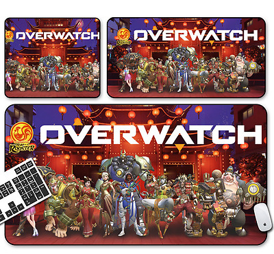 Hot Overwatch all charater Game Mouse Pad Profession PC Large Mats Muti size B