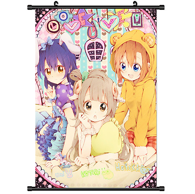 Hot Japan Anime Love Live Wall Poster Scroll Home Decor 2574