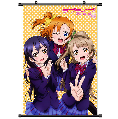 Hot Japan Anime Love Live Wall Poster Scroll Home Decor 2573