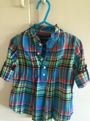 Toddler Girls Ralph Lauren Dress    Size 3