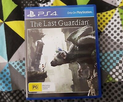 The Last Guardian for PlayStation 4, Australian, excellent condition