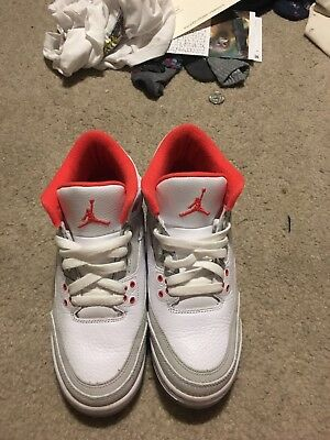 Air Jordan Retro 5 Scarlet Red Pink Size 7 men 8 women