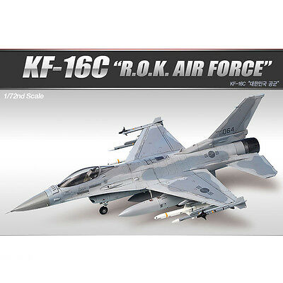 [Free Shipping] ACADEMY 1/72 ROKAF KF-16C Fighting Falcon #12418