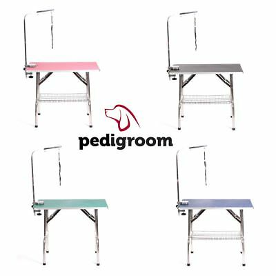 Dog Grooming Table Portable With Arm By Pedigroom Extra Large Mobile Shows Show