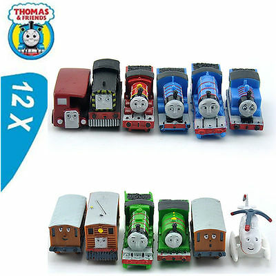 12 Thomas The Tank Engine & Friends Action Figures Train Model Cake ToppeToy