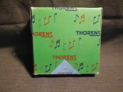 Vintage Thorens Set CL2 AD30 Music Box Metal Song Discs Made in Switzerland