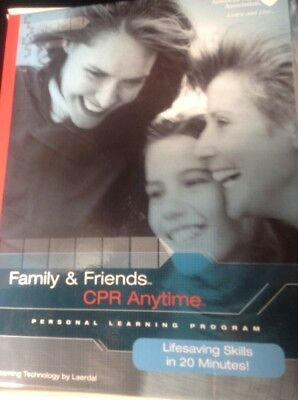 Family and Friends CPR Anytime Kit (DVD included) New