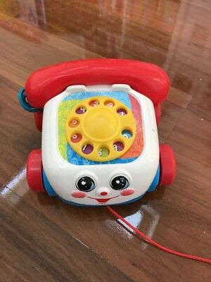 Vintage Fisher Price Phone Telephone Toy