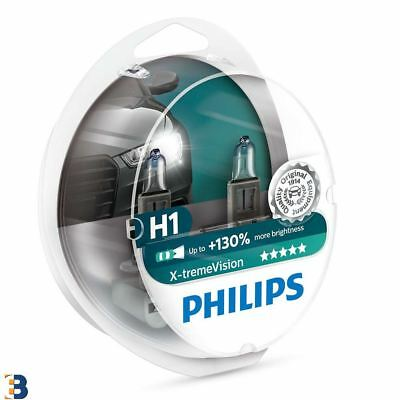 Philips H1 X-treme Vision 448 More light 12258XV+S2 Car headlight bulb Set