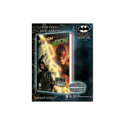 Batman Miniatures Game The Flash and the Arrow Book