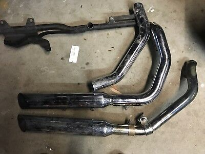 Harley Davidson 48 Exhaust Pipes