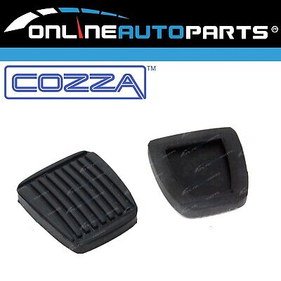 Pair Clutch + Brake Pedal Pad Rubbers suits Toyota 4Runner Hilux Surf 1979~2005