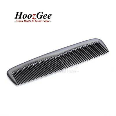 Pocket Travel Gents Mens Moustache Beard Shaping Grooming Combs Hair Comb Black