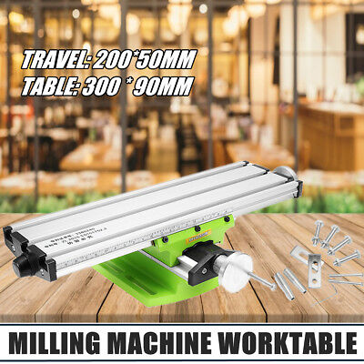 MINI Multifunction Milling Machine Worktable Bench Drill Vise Fixture Adjustment
