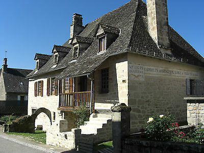 Holiday rental in rural France. Charming stone house in beautiful village