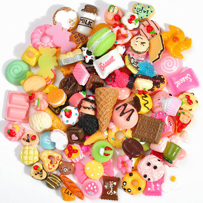 Toy Collection 10PCS Mini Fast food&Rilakkuma Squishy Charms Squeeze Slow Rising