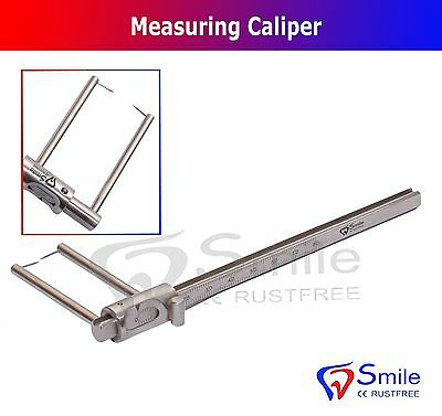 Vernier Caliper Stainless Steel Gauge Measuring Tool UK Circles Implants New CE