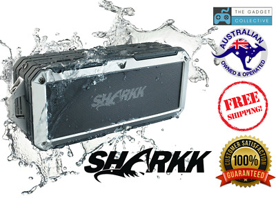 Sharkk 2O Waterproof Bluetooth Speaker IP67 Submersible Outdoor Shower Pool Beac