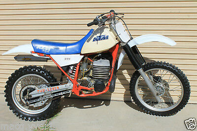 ktm.495,1983.nice clean example.Runs well.may suit,cr500.kx500.buyer