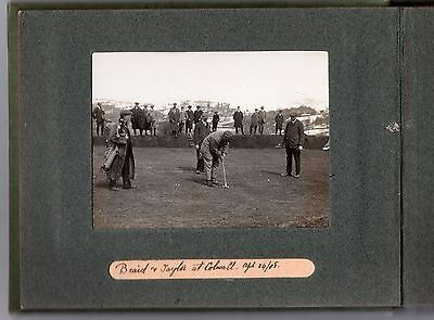 V Rare Photo J H Taylor James Braid South Herefordshire Colwall Park Golf 1908 4