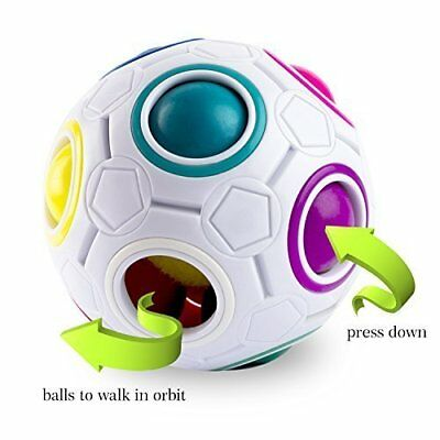 Magic Rainbow Ball Magic Cube Zauber Kugel Regenbogen Ball Twist Ball