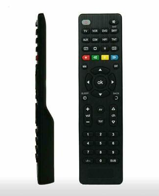 Universal Remote Control Tv,Vcr,Sky/Sat/Cable Hifi Dvd Player New Slim Design