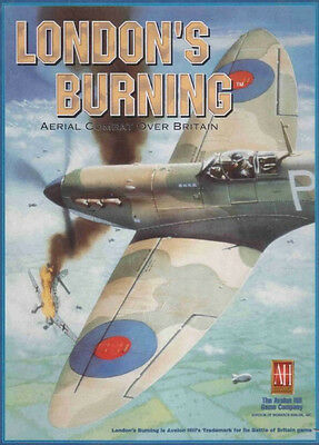 Avalon Hill 'London's Burning' Battle of Britain Game PDF Reference CD Free P+P