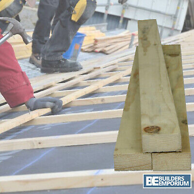Timber Roofing Batten Treated 3.6 mtr & 4.2 mtr x 10 Pieces Pack