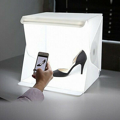 "16"" Mini Light Room Photo Studio Photography Lighting Tent Kit Backdrop Cube Box"