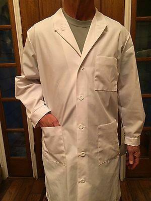 "Men's 1st Quality Meta Twill Lab Coat 38"" Sizes: 32-56 Price 12.00ea Reg & Long"