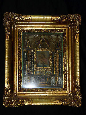 reliquary 24 relics - velo B.V.M. - see list of other saints