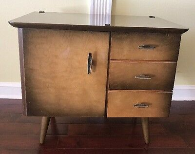 GORGEOUS Mid Century Modern Night Stand Tv Stand JUST WOW