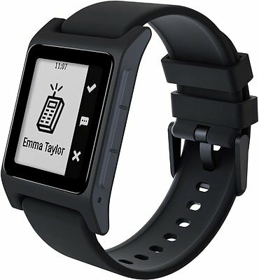 Pebble 2 SE Smartwatch for Apple or Android Black - Free Shipping (Brand New)