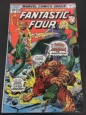 Fantastic Four Vol 1 # 160 Cents Issue, Bronze Age