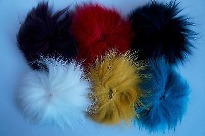 Fly Tying, Fox Tail, 6 Colours