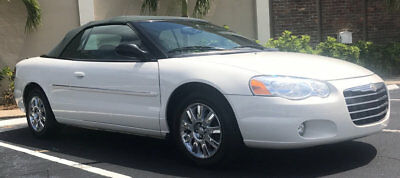 2004 Chrysler Sebring Limited 2004 CHRYSLER SEBRING CONVERTIBLE VERY GOOD CONDITIONS LOW MILES READY TO ENJOY