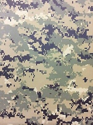 2 mm KYDEX T Sheet 297 X 210 (nominal)  Digital Woodland Camouflage (on Julep)