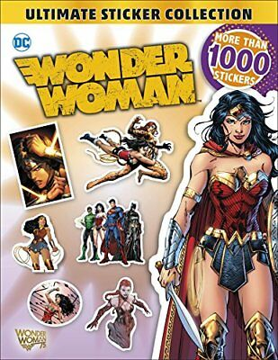 DC Wonder Woman Ultimate Sticker Collection by DK (Paperback, 2017)